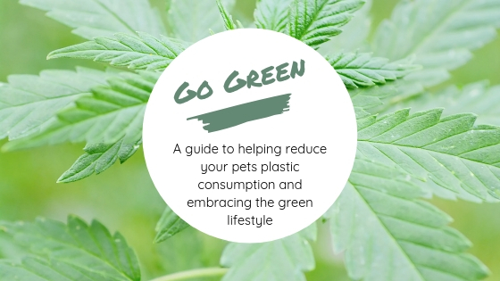 Go Green, A guide to helping reduce your pets plastic consumption