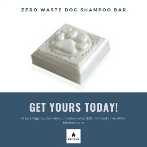 Zero Waste Dog Shampoo bar