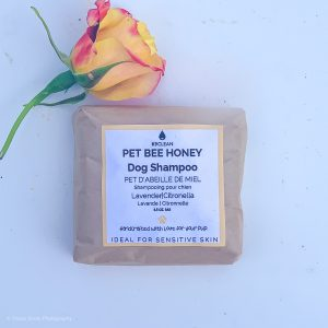 The Pet Bee Honey Shampoo from K9 Clean is a Zero Waste dog shampoo to soothe sensitive skin.