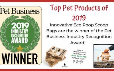 Eco Poop Scoop Bags Win Pet Industry Award | K9 Clean