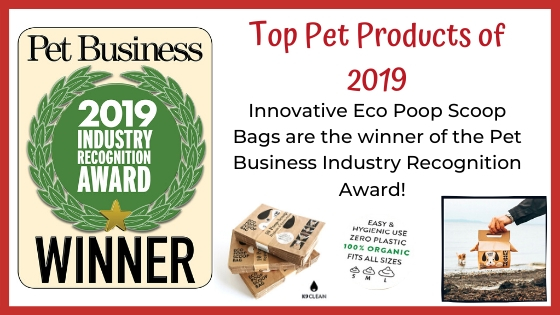 Eco Poop Scoop Bags Win Pet Industry Award | K9 Clean