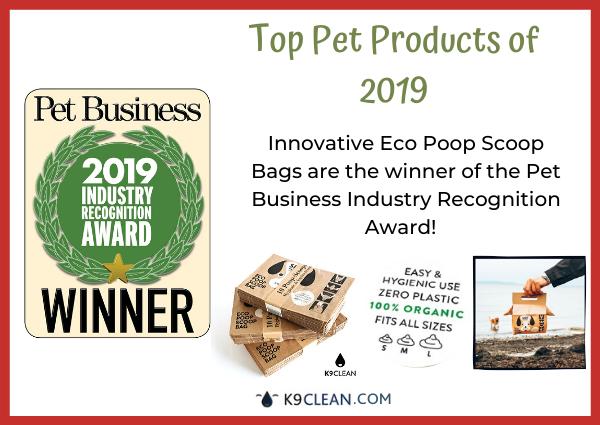 K9 Clean best environmental impact Eco Poop Scoop Bags