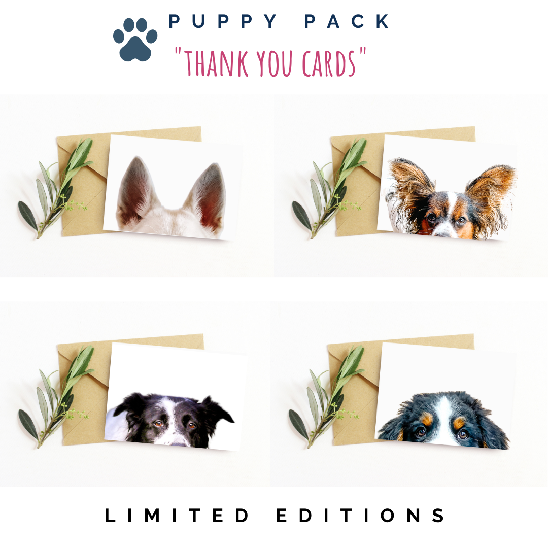 Puppy Pack thank you cards